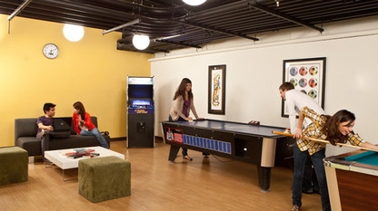 One Of The Many Recreational Spaces We Can Use In Dorm NYC At Our