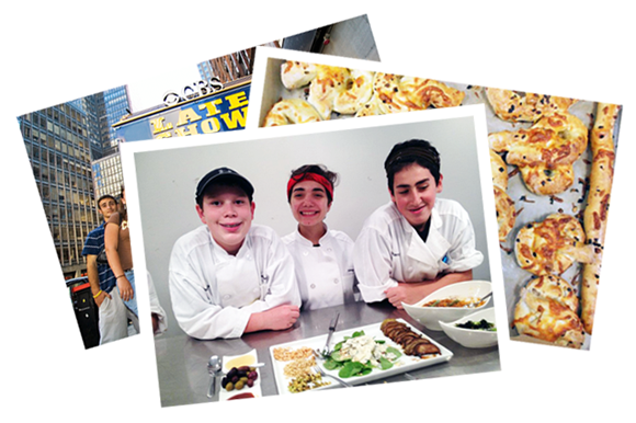 culinary summer camps high school students
