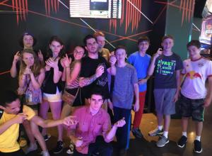 We Went to Laser Tag - Summer Culinary Camp