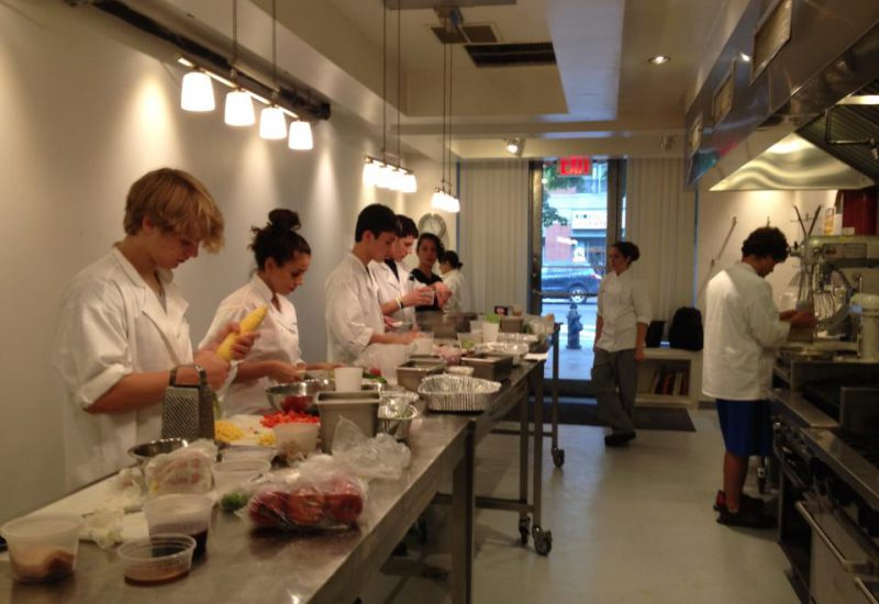 culinary arts summer camps