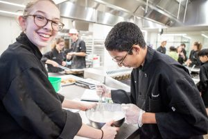 Good times at campusNYC, the culinary summer camp high school students love!