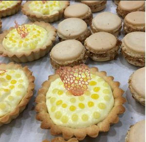 Candy Caviar tart from the competition