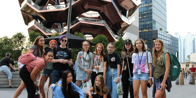 campusNYC summer cooking camp Cupcake tour